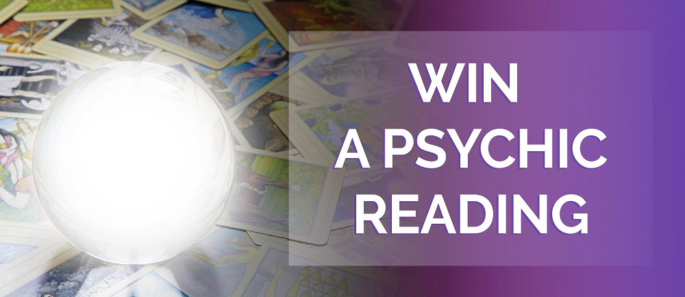 Win A Psychic Reading Oracloo banner
