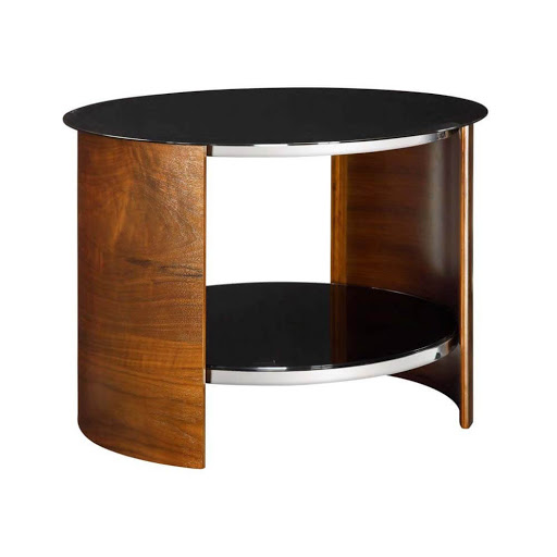 Jual Curve Walnut JF303 Lamp Table