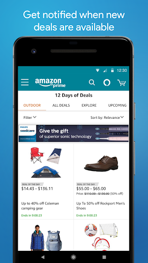 Screenshot 4 for Amazon's Android app'