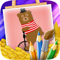 Funny Animals Coloring icon
