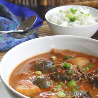 Thai Eggplant Massaman Curry
