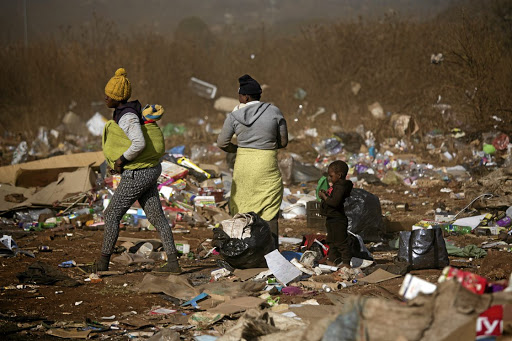Thipanyane said about 60% of South Africa's black population live in poverty' while only one percent of the country's white population falls into the same economic bracket.