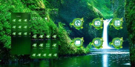 無料娱乐Appの滝ランチャーのテーマ|HotApp4Game