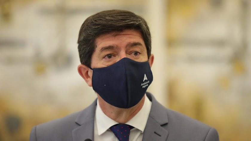 Juan Marín, vicepresidente andaluz.