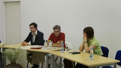 Photo: Forume dalyvavo žymūs istorikai – S. Pocytė, V. Vareikis, V. Safronovas