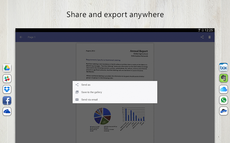 FineScanner Pro - PDF Document Scanner App + OCR Screenshot 9