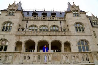 Photo: Nền cũ lâu đài bóng tịch dương!