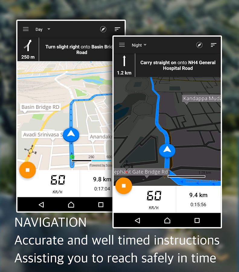 GPS Driving Route- screenshot
