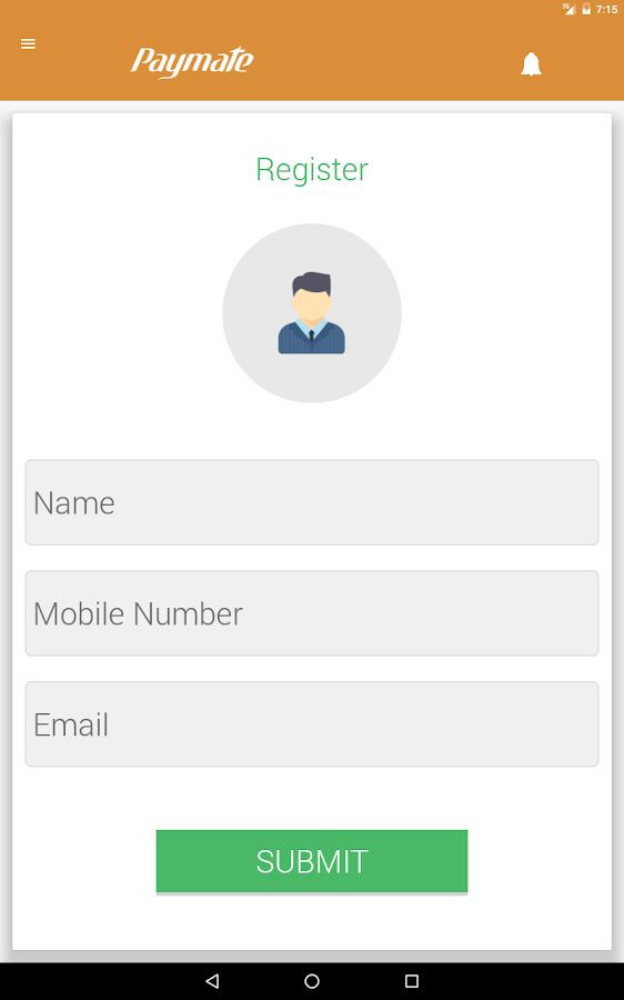 Paymate- screenshot
