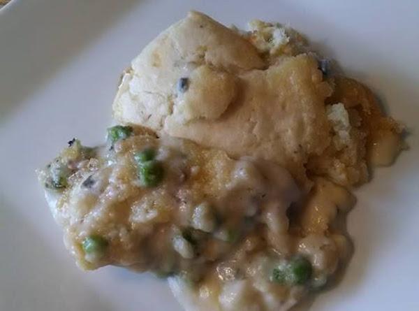 Chicken And Dumpling Pot Pie Casserole. Recipe
