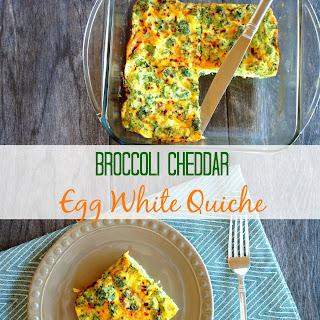 Spicy Cheddar Broccoli Quiche