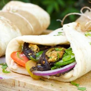 Eggplant Kebab with Tahini