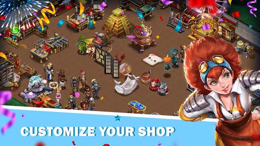 Shop Heroes: Trade Tycoon apktram screenshots 3
