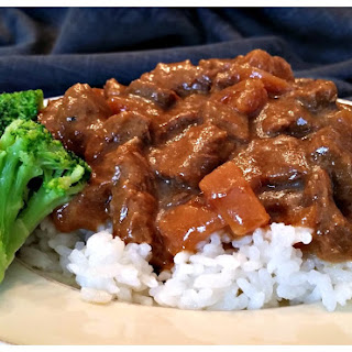Crock Pot Steak Teriyaki.