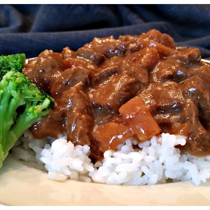Crock Pot Steak Teriyaki