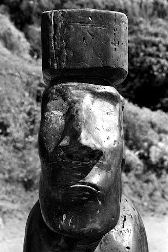 Moai di legno di Gregory