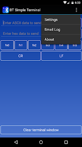 Bluetooth Terminal screenshot 2