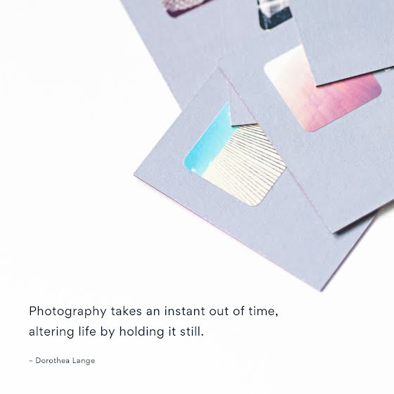 Holding It Still - Instagram Post Template