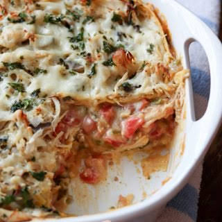 King Ranch Chicken Casserole (from The Southerner's Cookbook).