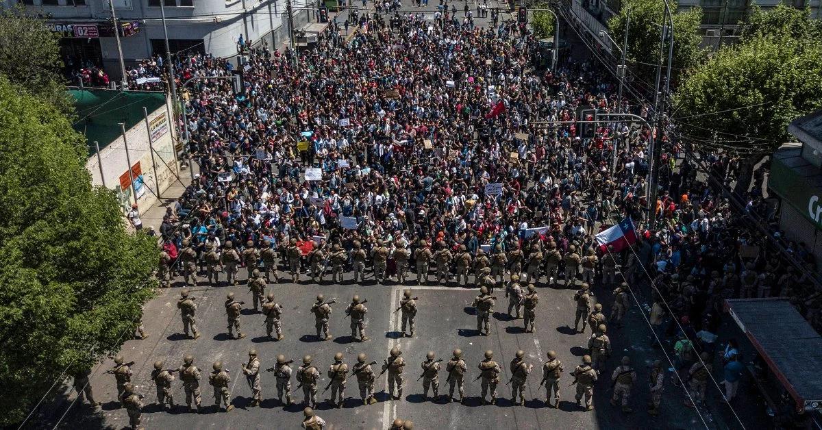 Las Protestas en Chile se calman, pero ¿Por cuanto tiempo?