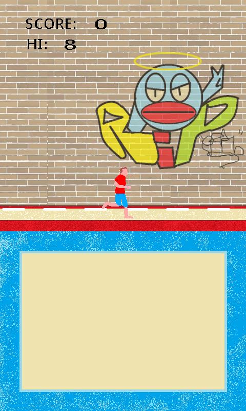 Скриншот Tap tap tumbling!