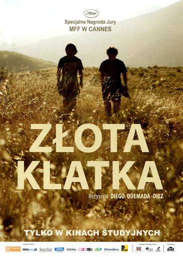 Przód ulotki filmu 'Złota Klatka'