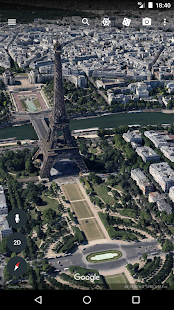 Google Earth - náhled