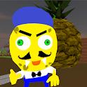 Neighbor Sponge. Scary Secret 3D icon