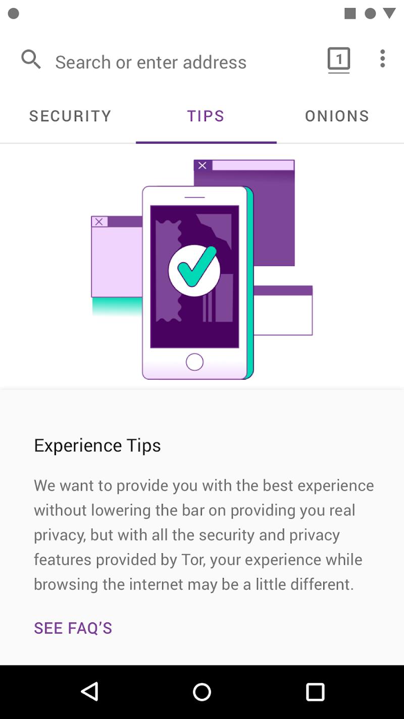Tor Browser (Alpha) Screenshot 5