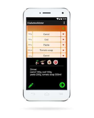 android DiabetesMeter Screenshot 4