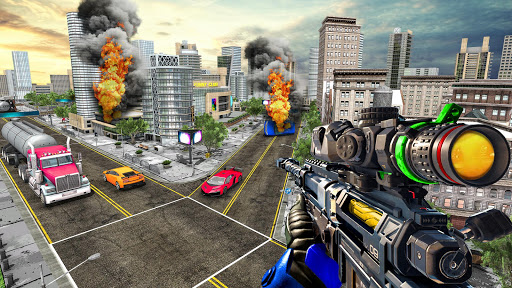 Sniper Traffic Shooter - New shooting games - FPS 1.8 de.gamequotes.net 2
