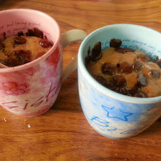 Brownie in a Mug-Microwave Brownie- 2minute Brownie.