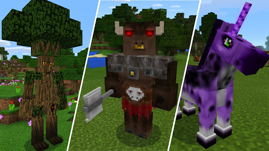 Mod Amazing Mobs 2018 for MCPE - náhled