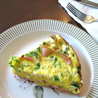 Bacon Jalapeno Crustless Quiche.