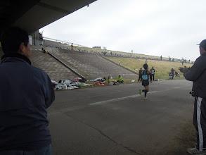 Photo: 11:15分すぎ、トップの選手たちが帰ってきた!