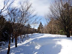 ここで雪は30cm以上(奥に白い霊仙山)