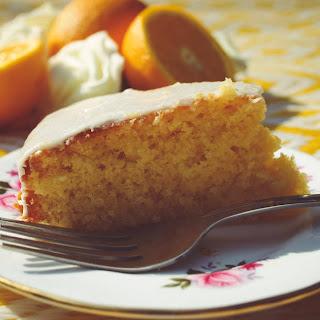 Marmalade Cake with Orange Icing