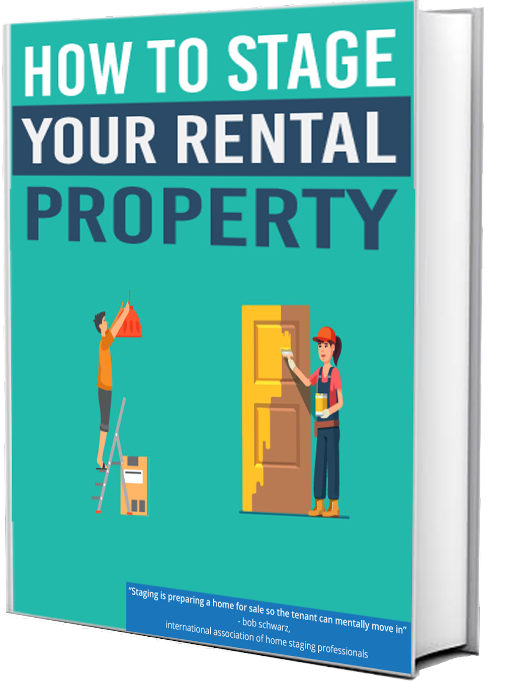 How to stage your rental property book