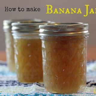 How To Make Banana Jam.