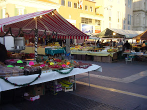 Photo: The local farmer's market is also in full swing.