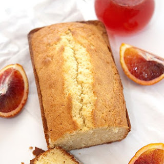 Blood Orange Vanilla Pound Cake.