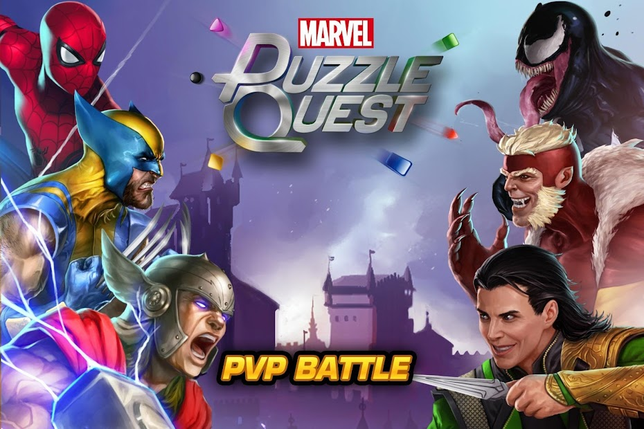 MARVEL Puzzle Quest: Join the Super Hero Battle! Android App Screenshot