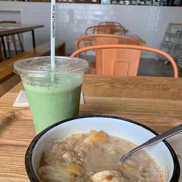 Buckwheat and millet porridge