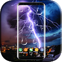 Lightning Raindrop Live Wallpaper icon