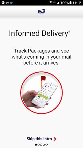 Informed Delivery® Screenshot