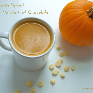 Pumpkin Spiced Hot White Chocolate