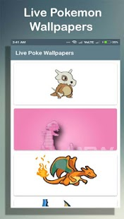 Live Poke Wallpapers (LWP) Screenshot