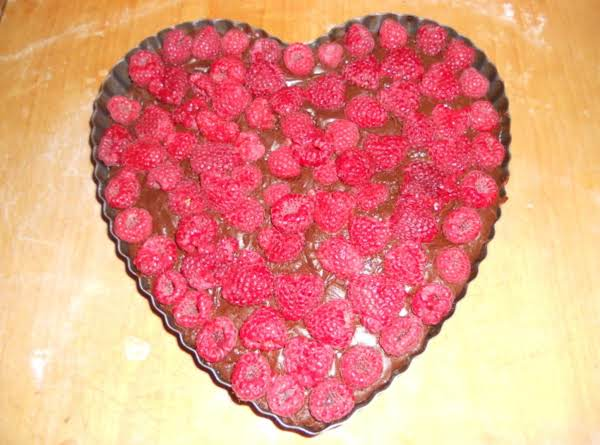 This Is A Better Angle Of What I Made The Other Night For Valentines Day And My Family And I Loved It! Easiest Recipe I Could Ever Make And There Are So Many Options With This You Can Add Raspberry Jam To The Chocolate Mixture, Make It On An Oreo Crust, Sprinkle Oreos In To The Mixture For An Extra Touch, This Recipe Is Amazing.