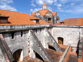 Photo: Havana - roof of the Catedral de la Habana