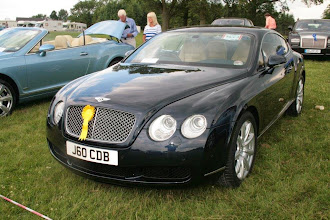 Photo: 2nd Prize for Chris Ball's Continental GT against the 1st Prize winning GTC next door